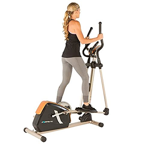 Exerpeutic GOLD 2000XLST Elliptical Trainer with 21 Workout Programs - Home Elliptical Trainer