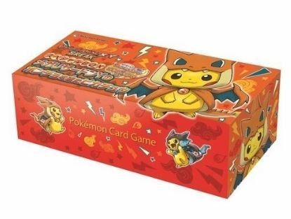 Pokemon card game XY Break Pikachu wearing a poncho Special card BOX Mega Charizard Y Pokemon canter Japan Import