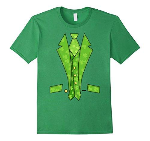 Get Lucky Leprechaun Costume (Leprechaun Costume Tailcoat Tuxedo T-shirt)