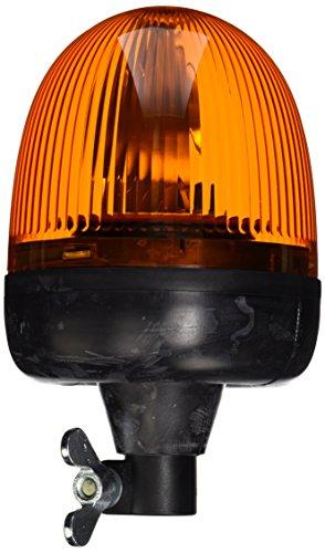 HELLA 009506011 KL Rotacompact Flex Mount Beacon Warning Light, Rotating Patterns, 24V, Amber