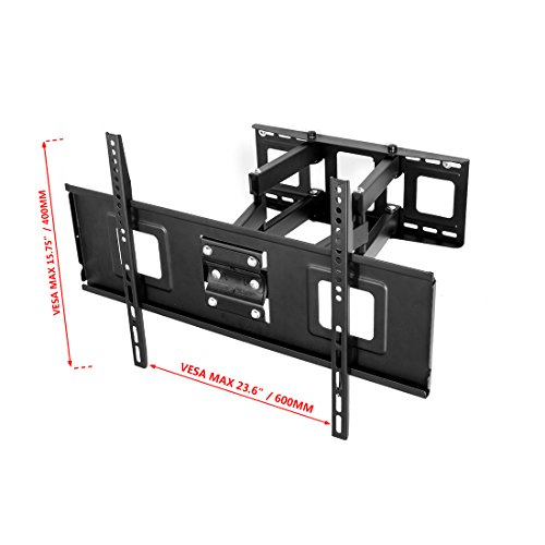 fleximounts a04 full motion articulating tv wall mount bracket import it all. Black Bedroom Furniture Sets. Home Design Ideas