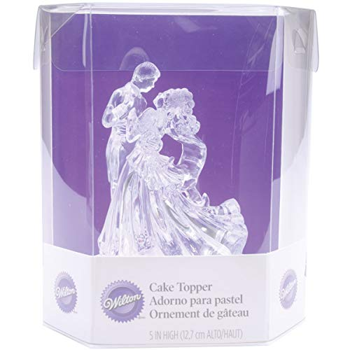 (Wilton Clear Bianca Figurine Topper)