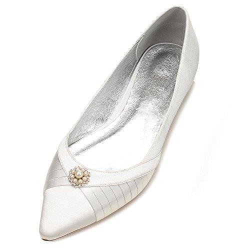 Qualità Scarpe 12 Sposa Ivory yc Donna Da Sera Cerimonia L 5047 Di Abito Alta qnPCxw5YB