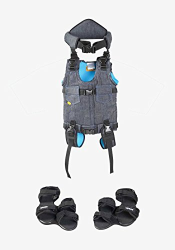 Firefly by Leckey Upsee Mobility Device – Mobility Harness for Children with Motor Impairments - Blue, Medium by Firefly
