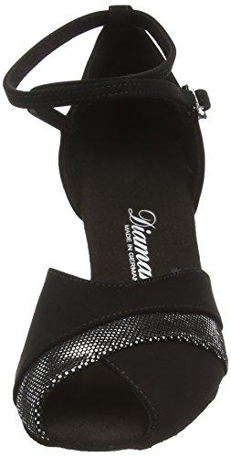 Salon Chaussures Femme Noir 119 de Tanzschuhe Damen 039 060 de Danse Latein Noir Diamant UvYFw
