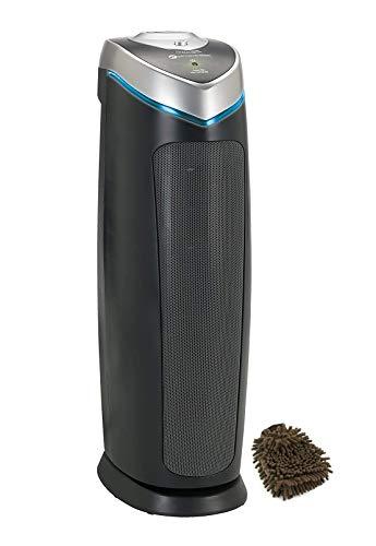 Germ Guardian UV-C AC4825 Air Purifier Filter, Germguardian HEPA Prefilters Series, UV 3-in-1 True Pet Light, UVC (Complete Set) w/Bonus: Premium Microfiber Cleaner Bundle