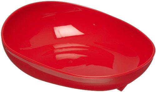Maddak Skidtrol Red Scooper Dish with Non Skid Base (745371004)