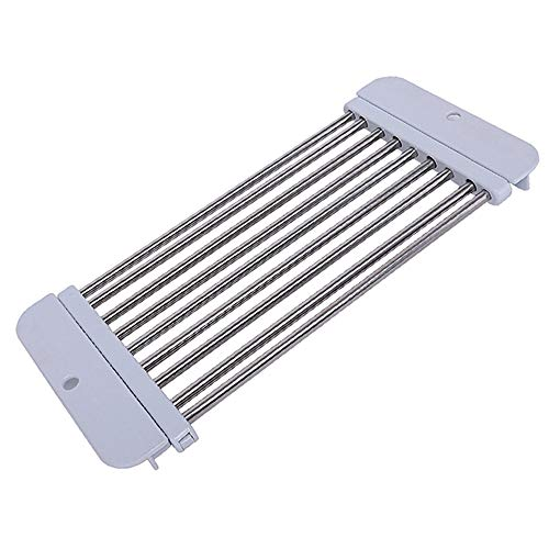 Hovillage Adjustable Dish Drying Rack Stainless Steel Over S