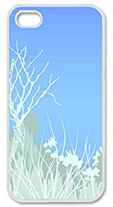 Iphone 5 5s PC Hard Shell Case Snow Scenery White Skin by Sallylotus by ruishername