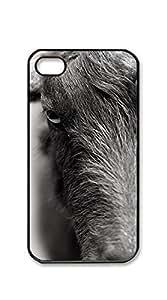 TUTU158600 Print Hard Shell phone case iphone 4s cool - No corner of funny goat