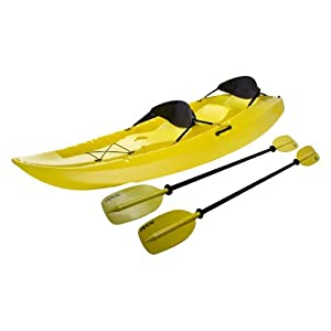 Lifetime 10 Foot, Two Person Tandem Sit-on Kayak with Padded Backrests
