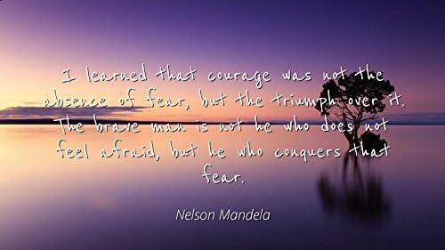 Amazon Com Nelson Mandela Famous Quotes Laminated Poster