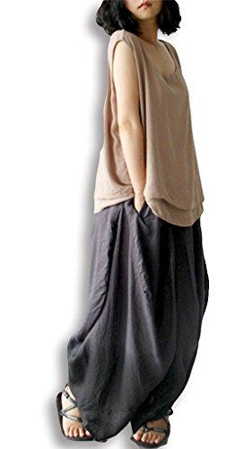 Lixmee - Pantalón - para mujer _01Coffee