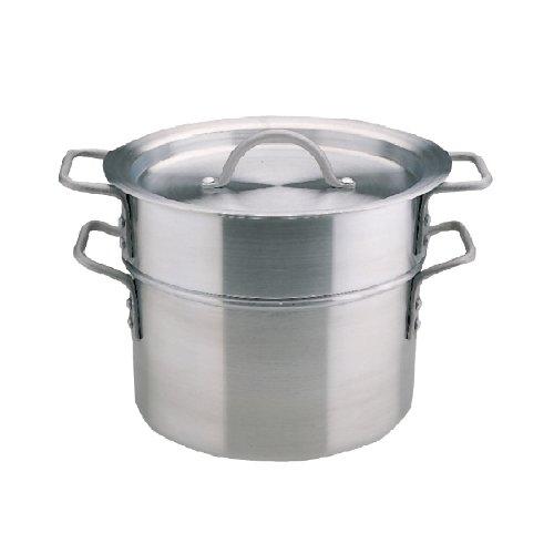 Bain marie Aluminium Diameter: 27.5 cm/9 litres with Lid
