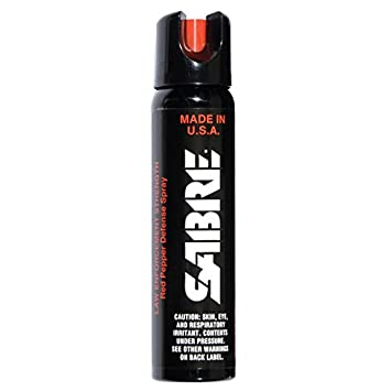 Amazon.com : SABRE 3-IN-1 Pepper Spray - Advanced Police Strength ...