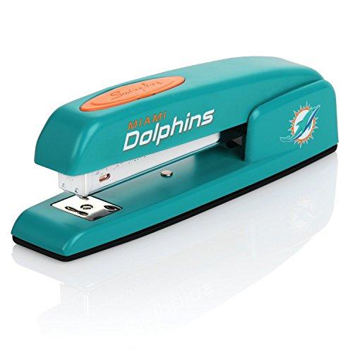 (Miami Dolphins Stapler, NFL, Swingline 747, Staples 25 Sheets (S7074084))