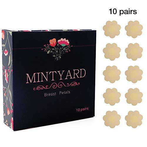 NippleCovers, MINTYARD Disposable Pasties Adhesive Bra Nippleless Cover 10 Pairs
