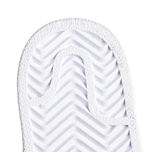 adidas Unisex Baby Superstar Gymnastikschuhe, Weinrot Weiß (Ftwbla/Dormet/Dormet)