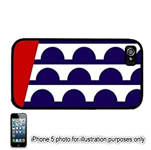 Diy iPhone 6 plus Des Moines Iowa IA City State Flag Apple iPhone 6 plus Hard Back Case Cover Skin Black FITS for 6 plus