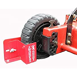 Jungle Boot Small, to Secure Push mowers on Your Open or Enclosed Trailers 25 These revolutionary items secures push mowers from damage in transport. Mount the boot on either the left or right side of the trailer. Extend the life of