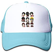 Sport Team Fortress 2 Child Snapback Cap Hat Boys Girls Adjustable One Size SkyBlue By JAC8I