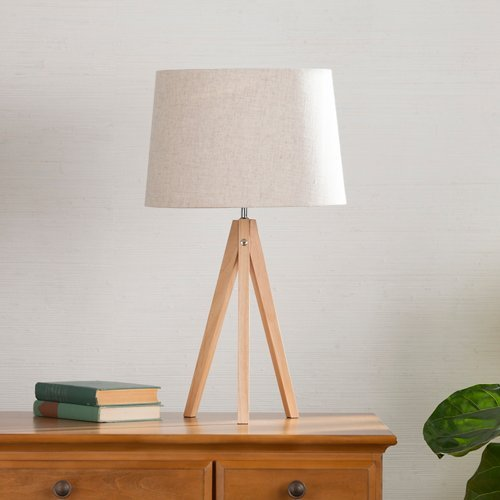 Southern Enterprises Jarvis Tripod Table Lamp in Bamboo