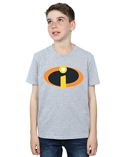 The Disney Incredibles grigio Suit sportiva Boy con shirt T 2 di logo 6CSHCqw