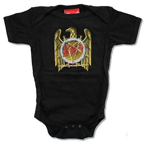 Bravado Slayer Golden Eagle Infant Black One Piece Crawler (XL 18-24 mo) ()