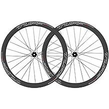 TUFF Saw 45 Carbon Road Disc Brake Wheels Tubeless Clincher 700c Road Bike Wheelset