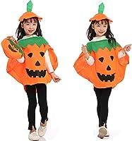 Disfraz de Calabaza para Niños Halloween Calabaza Cosplay Ropa con ...