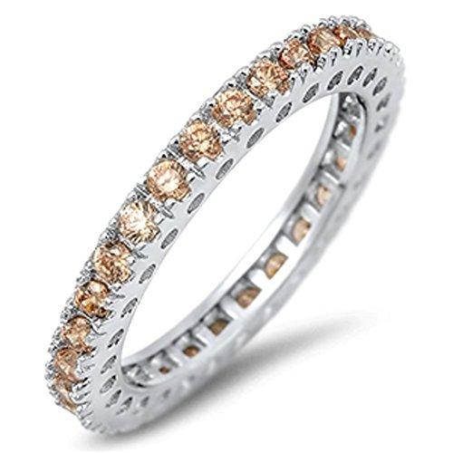 Band Morganite Ring - 9