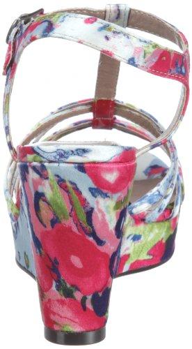 Bullboxer 829035 829035 - Sandalias de vestir de tela para mujer Rosa