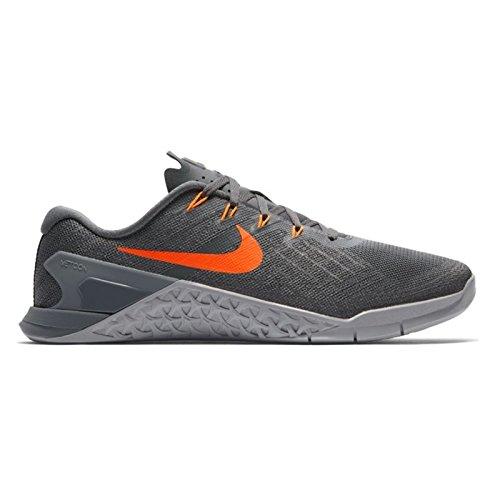 more photos 4e2cb 27681 Galleon - Nike Men s Metcon 3 Dark Grey Hyper Crimson Training Shoe 9 Men US
