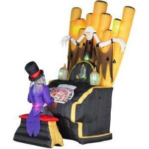 master organ halloween airblown inflatable by gemmy