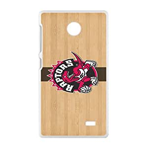 Toronto Raptors NBA White Phone Case for Nokia Lumia X Case