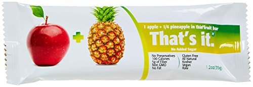 That's It Fruit Bar - Apple Pineapple - 1.2 oz