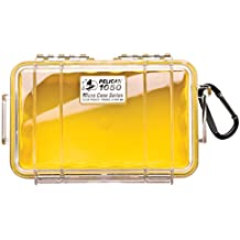 Waterproof Case   Pelican 1050 Micro Case - for iPhone, cell phone, GoPro, camera, and more(Yellow/Clear)