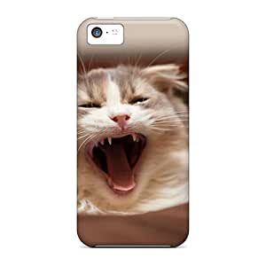 CykIFxP5830TqmoA Cynthaskey Awesome Case Cover Compatible With Iphone 5c - Yawn by lolosakes