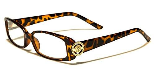 Rhinestone Womens Reading Glasses 1.25 1.50 2.00 2.25 2.50 3.00 3.25 (Rhinestone Brown Reading Glasses)