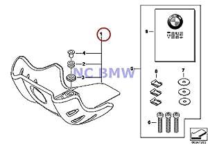 BMW Genuine G650GS G650GS Sertao Motorcycle ALUMINUM BASH PLATE