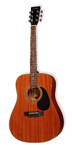 Zager EZ-Play ZAD20 Acoustic Mahogany Dreadnought ()
