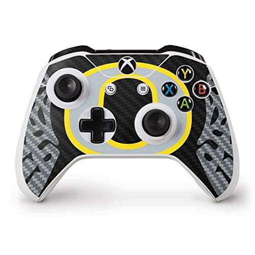 (Skinit Oregon Ducks Black Xbox One S Controller Skin - Officially Licensed Fermata College Gaming Decal - Ultra Thin, Lightweight Vinyl Decal Protection)
