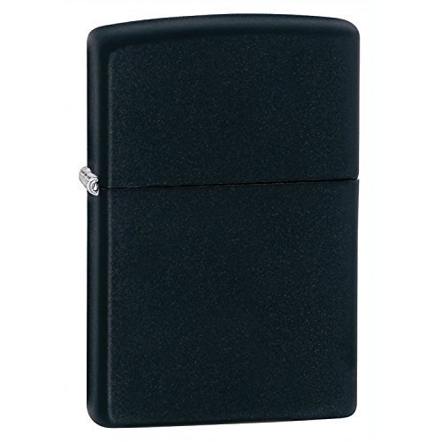- Zippo Pocket Lighter, Black Matte