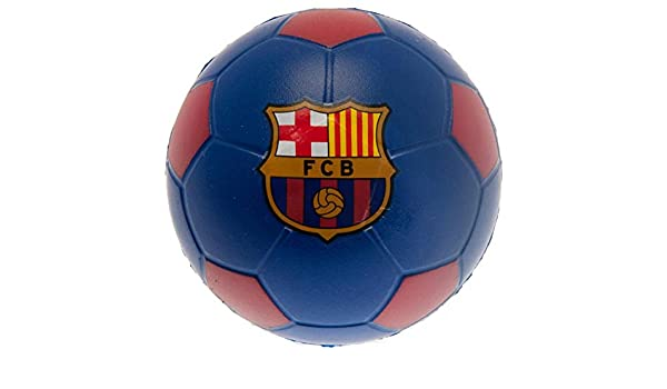 FC Barcelona - Pelota antiestrés - Azul - Talla única: Amazon.es ...