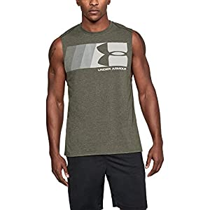 Under Armour Men's Graphic Muscle Tank, Artillery Green Medi, X-Large