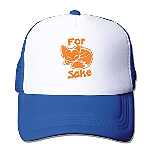 Vicop Fox Sake Trucker Cap Summer Mesh Hat With Adjustable Strap RoyalBlue