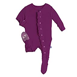 Kickee Pants Ruffle Footie, Melody, 18-24 Months