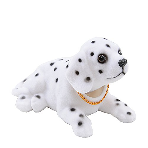 Bobble Head Dogs Bobbing Heads Car Dash Puppy for Car Vehicle decoration (Dalmatians)