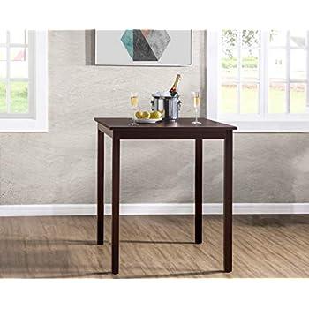 Amazon.com - Alpine Furniture Granada Counter Height Pub ...