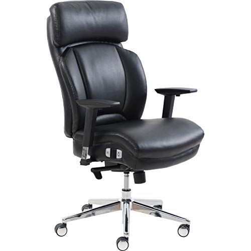 - Lorell LLR50194 Lumbar Support High-Back Chair Black